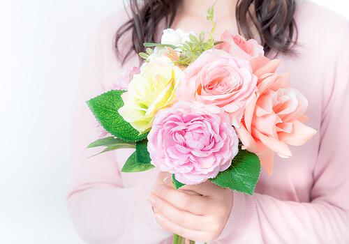 花を手渡ししたい方